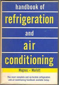 Handbook of Refrigeration and Air Conditioning: Magnus, Edward R.
