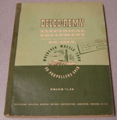 delco remy abebooks rh abebooks com Delco Remy Voltage Regulator Wiring Diagram Delco Remy Voltage Regulator Schematic