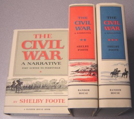 shelby foote civil war Two great armies were converging on his farm and what would be the first major battle of the civil war  shelby foote, recounting gen lee's actions on july 3, 1863.