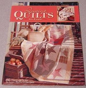 Quaint Quilts to Love - 6 Designs: Figueroa, Joanna &