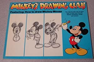 Mickey's Drawing Class: Featuring How To Draw Mickey Mouse