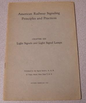 American Railway Signaling Principles and Practices, Chapter: American Railway Assn.