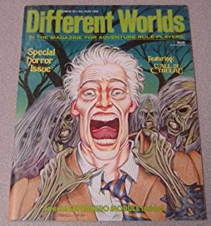 Different Worlds: The Magazine for Adventure Role-players, Issue 35, July/Aug. 1984