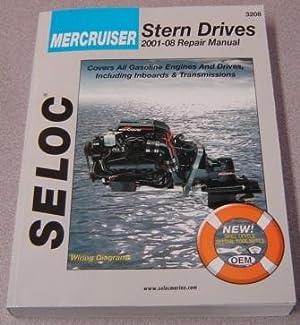 Seloc Mercruiser Stern Drives 2001-2008 Repair Manual: Maher, Kevin M.