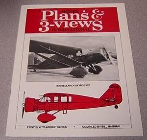 Model Plans & 3-Views International: 1936 Bellanca: Hannan, Bill