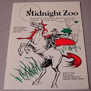 Midnight Zoo, Volume 2 #4, Exciting Horror, Science Fiction, Fantasy, & Science Fact