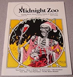 Midnight Zoo, Volume 2 #6, Exciting Horror, Science Fiction, Fantasy, & Science Fact