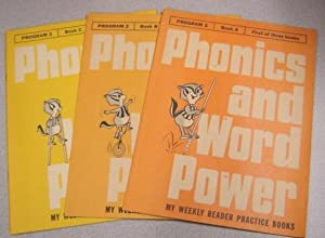 Phonics And Word Power, My Weekly Reader Practice Books, Program 2, Books A,b,c, 3 Volume Set