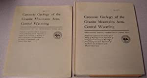 Cenozoic Geology Of The Granite Mountains Area, Central Wyoming, 2 Volume Set (Geological Survey ...