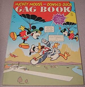 Mickey Mouse And Donald Duck Gag Book: Walt Disney Productions