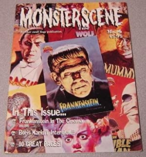 Monsterscene Magazine #4, March 1995 (Frankenstein In The Movies)