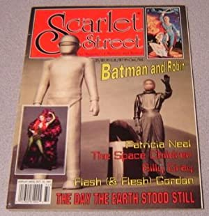 Scarlet Street #25 / The Day the Earth Stood Still