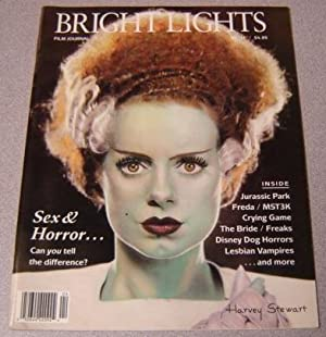 Bright Lights Film Journal, No. 11, Fall 1993 [elsa Lanchester As The Bride Of Frankenstein, Pict...