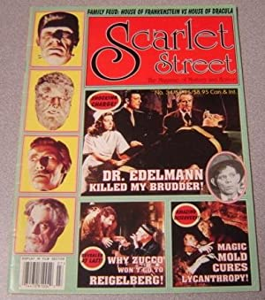 Scarlet Street #34, The Magazine of Mystery and Horror