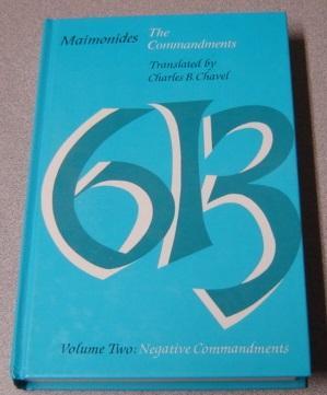 The Commandments, Volume 2: Negative Commandments: Chavel, Charles B.