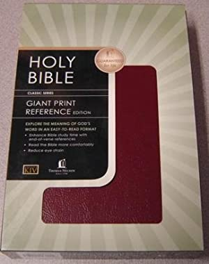 The Holy Bible: Old And New Testaments, Authorized King James Version, Giant Print Reference Edit...