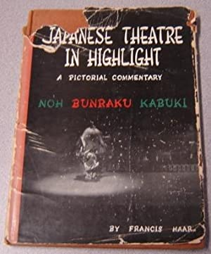 Japanese Theatre In Highlight: A Pictorial Commentary: Haar, Francois &