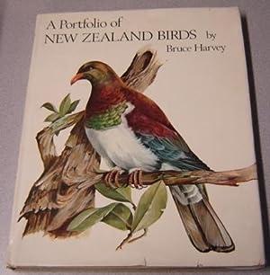 A Portfolio Of New Zealand Birds: Harvey, Bruce
