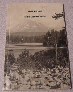 Memories Of Shingletown Ridge: Mellerio, Leila; Sorenson,
