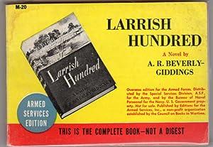 Larrish Hundred: Giddings, A. R.