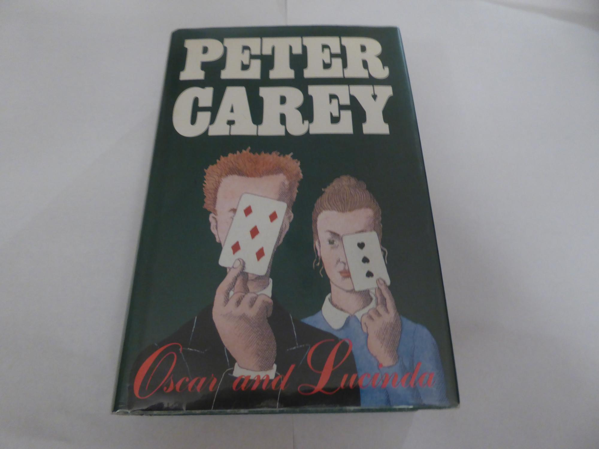 Oscar And Lucinda By Peter Carey University Of Queens border=
