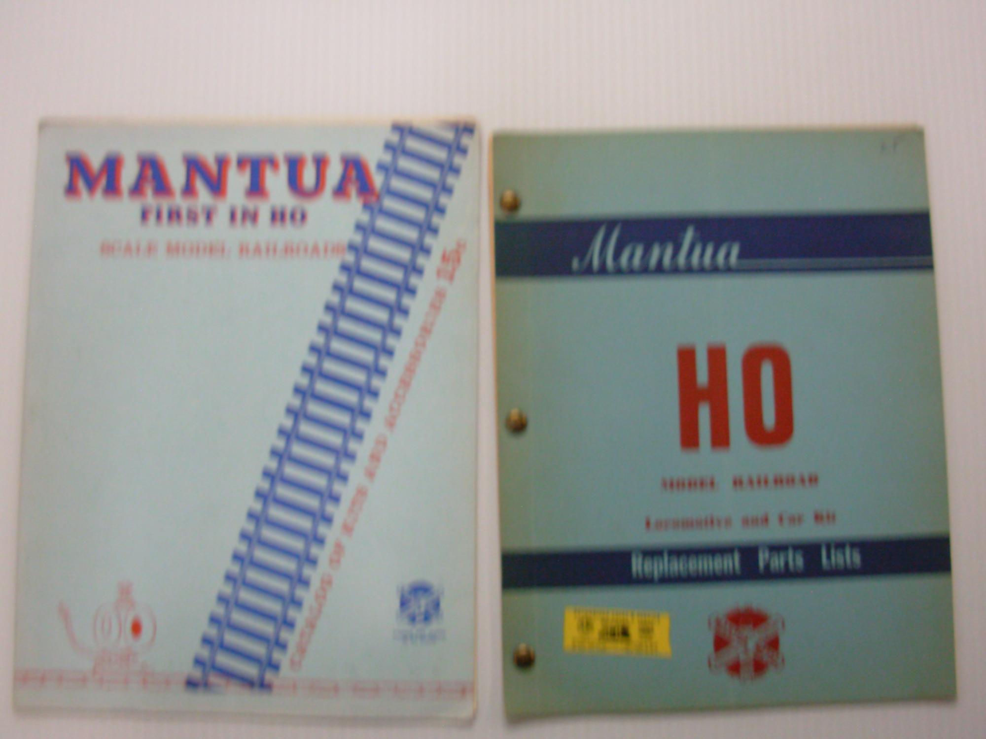 Mantua: First in HO: Scale Model Railroads--