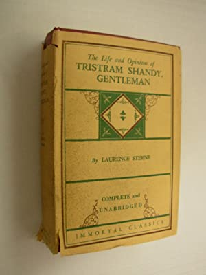 The Life and Opinions of Tristram Shandy,: Sterne, Lawrence