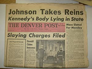 The Denver Post, November 23, 1963 - December 29, 1963 [Lot of 9 sections from 6 issues of The De...