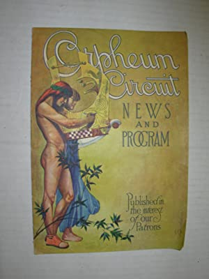 Orpheum Circuit News and Program (Palace Music