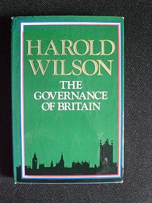 The Governance of Britain: Wilson, Harold