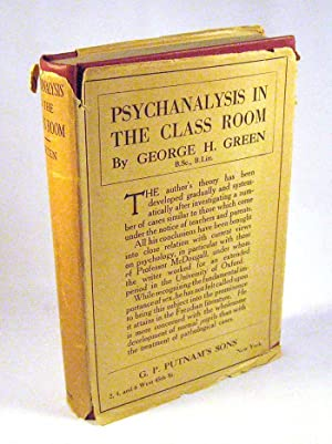Psychanalysis In The Classroom: George Henry Green; William McDougall