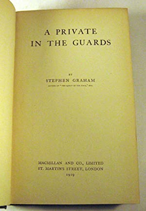 A Private In The Guards: Stephen Graham