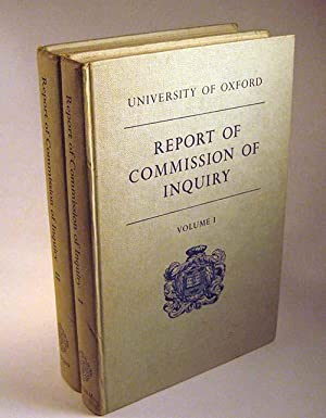 Report of Commission of Inquiry : Volume 1 - Report, Recommendations, and Statutory Appendix - ...
