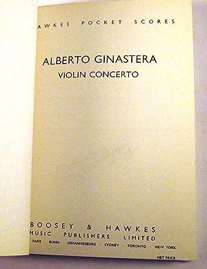 Violin Concerto [Score] (Hawkes Pocket Scores): Ginastera, Alberto Evaristo