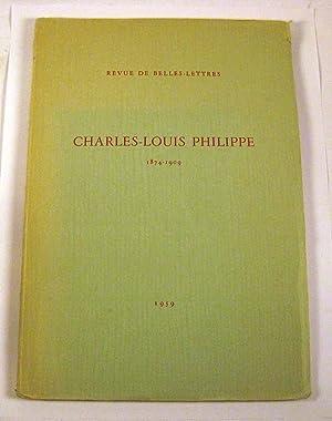 Charles-Louis Philippe: 1874-1909: Revue de Belle Lettres