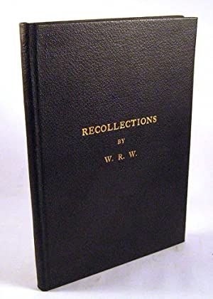 Recollections of Childhood: William R. Whiting