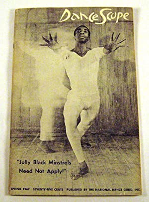 "Jolly Black Minstrels Need Not Apply"": Dance Scope, Spring 1967: Mark Zalk (editor)"