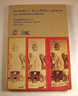 La Mujer y la politica agraria en: Magdalena Leon, Carmen
