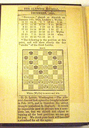 Rambles With the Switcher: An Opening in the Game of Checkers: William Timothy Call