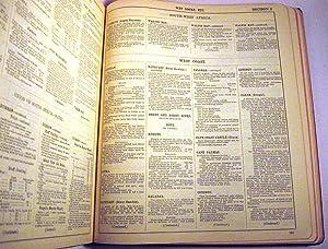 Lloyd's Register of Shipping, Register Book 1958-59. Volume IV Directory