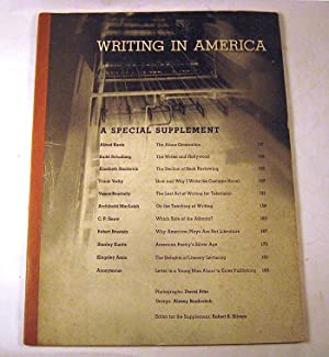 Writing in America: A Special Supplement: Robert B. Silvers (editor).
