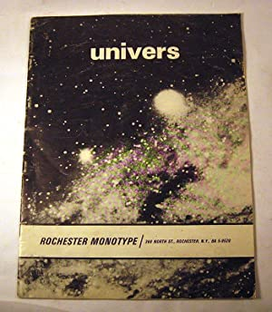 Univers: Rochester Monotype