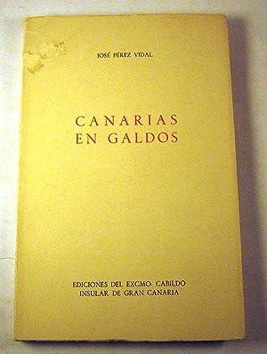 Canarias en Galdos: Jose Perez Vidal