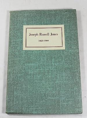 Joseph Russell Jones, 1823-1909: George R. Jones