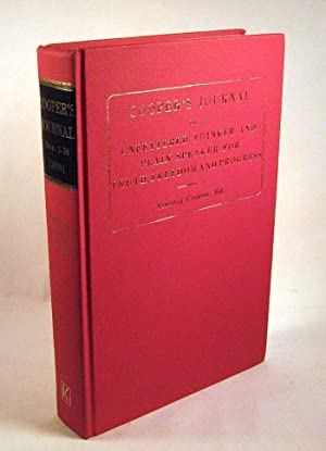 Cooper's Journal, Nos.1-30: Editor-Thomas Cooper
