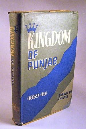 Kingdom of Punjab, 1839-45: Chopra, Barkat Rai