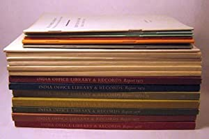 Indian Office Library, Reports for the Years 1960-1965 & 1967-1979: Indian Office Library