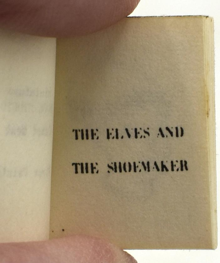 THE ELVES AND THE SHOEMAKER. PETER