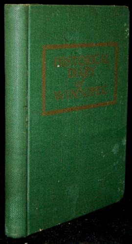 AN HISTORICAL SOUVENIR DIARY OF THE CITY OF WINNIPEG, CANADA: Fred. C. Lucas
