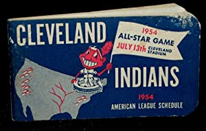 OFFICIAL SCHEDULE OF THE AMERICAN LEAGUE 1954: Cleveland Indians]